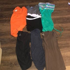 Maternity Bundle of 6 Short Sleeve Shirts